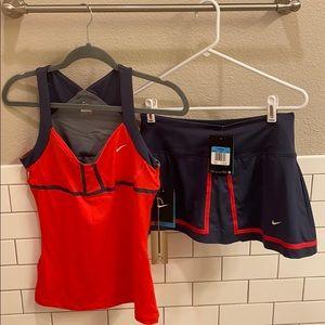 NWT!  Nike Women's size medium Tennis Outfit